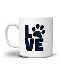 LOVE Tasse Fr Tierliebhaber