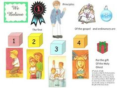 Cute games and ways to teach the articles of faith