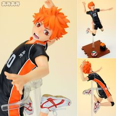 AmiAmi [Character & Hobby Shop] | Haikyuu!! - Players Series: Shoyo Hinata 1/8 Complete Figure(Back-order)