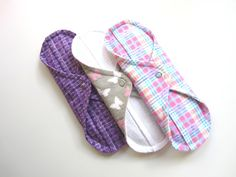 Mama Cloth Menstrual Pads. $16.00, via Etsy -- cloth is so much comfier then paper/plastic.