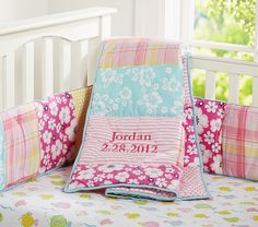 Lahaina Nursery Bedding | Pottery Barn Kids