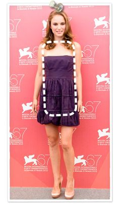 Natalie Portman has a rectangle shaped body type