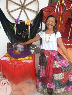 Maria Lopes e Artes: Festa Cigana em Itaipuaçu- Maricá