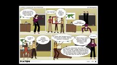 """Cómic que explica el concepto clase invertida """"Flipped Classroom"""" con clave de humor. #FlippedClassroom #Newlearning"""