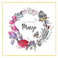 Ya llega Marzo y con él llegan las flores la Luz el color... y nuestro descargarle del #calendario2017 Lo tenéis en la sección de descargables del blog (link en bio)Ah! Y también llegan las #fallas! #Marzo #lettering #elclubdellettering #fb