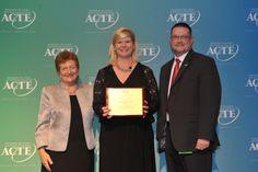Region III Career Guidance Award winner, Jayne Greeney Schill of Waite Park, Minnesota. https://www.acteonline.org/general.aspx?id=5657