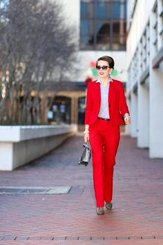 make a statement | the red suit - hampton roads