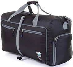 fb5da51d4227 Bago Duffle Bag For Travel Luggage Gym Sport Camping - Lightweight Foldable  Into Itself Duffel LARGE