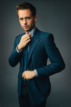 patrick j adams suits - Google Search