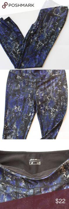 Eddie Bauer Athletic Leggings Eddie Bauer Athletic/Yoga leggings. 88% poly, 12% spandex. Like new!!!! Eddie Bauer Pants Leggings