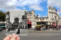 Paris Fenetres Sur Histoire Julien Knez - Le Moulin Rouge 1900