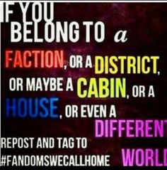 #fandomswecallhome, Harry potter , Percy Jackson , miss peregrine's , full metal alchemist ,  Pokémon , a wrinkle in time etc.