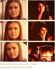 This proves that Elena's relationship with Stefan wasn't as valuable and rare as with Damon.