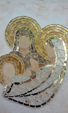 Mosaic Crafts, Mosaic Projects, Stained Glass Projects, Stone Mosaic, Mosaic Glass, Glass Art, Mosaic Wall, Mosaic Tiles, Christmas Mosaics