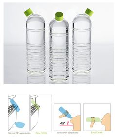 Gadgets Now Beta Coupon Gadget Expression Meaning! Plastic Bottle Design, Water Bottle Design, Plastic Bottles, Water Bottles, Smart Design, Creative Design, Design Design, Design Innovation, Water Packaging