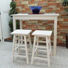 Antique White Pavina Pub Bar Table - Overstock Shopping - Big Discounts on Bar Tables