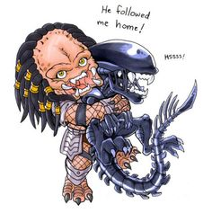 can I keep him? ~ the beginning of Alien vs Predator. Les Aliens, Aliens Movie, Arte Alien, Alien Art, Alien Vs Predator, Alien Film, Alien Drawings, Cat Vs Dog, Monster Book Of Monsters