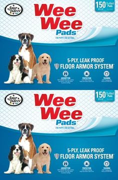 Four Paws 300pk Box 22x23 Wee Wee Pads * Read more  at the image link.