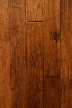 "4-1/4"" Hand Scraped & Distressed American Hickory. Available In Both 3/4"" Solid, & Engineered Hardwood Flooring. www.apeplakflooring.com"