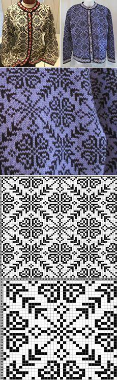 Jacquard jacket |  Creative knitting