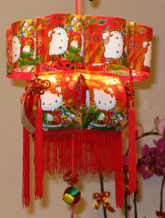 Red Packet - Hello Kitty Chinese Lantern