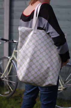 Tissu étanche et vélo sacoche sac & épaule fourre-tout vert