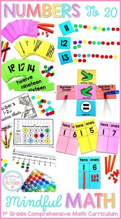 Teach counting and n