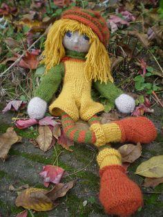 1 The Doll's body by Arne & Carlos Knitting Dolls Free Patterns, Knitted Dolls Free, Crochet Dolls, Doll Patterns, Knit Crochet, Yarn Projects, Crochet Projects, Arne And Carlos, Knitting For Charity