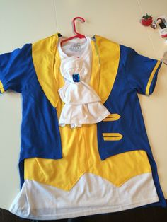 Beast t shirt i sewed from 3 tshirts. prince adam from beauty and Disney Halloween, Family Halloween Costumes, Halloween Fun, Beauty And The Beast Halloween, Beauty And The Beast Diy, Diy Beauty And The Beast Costumes, Prince Costume, Disney Costumes, Cosplay Costumes