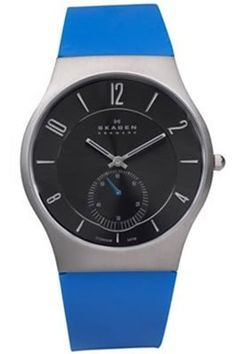 Skagen 2-Hand with Sub-Seconds Titanium Men's watch #805XLTRN Skagen. $77.37. Titanium Case. Hour, Minute Second Functions. 100 Feet / 30 Meter Water Resistant. Seconds Subdial. Black Analog Dial. Save 40%!