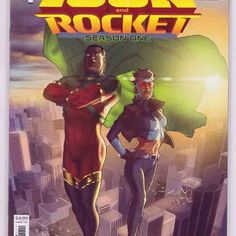 Icon And Rocket Season One #1 (2021) Taurin Clarke Cover & Doug Braithwaite Pencils, Reginald Hudlin Story Long ago, the stranded alien known as Arnus gave up hope of returning to his home planet. Tragically, he'd also realized that his adopted home of Earth was beyond saving. Comic Book Publishers, Dc Comic Books, Time Warner, One 1, Women Names, American Comics, Black Panther, Dc Comics, Something To Do