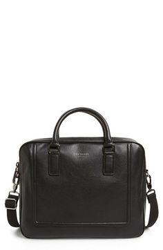 b153ca678497cd Ted Baker London  Ragna  Leather Bowler Bag Leather Laptop Bag