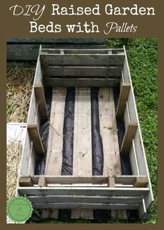 DIY Raised Garden Beds with Pallets - Something 2 OfferSomething 2 Offer