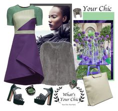 """What's Your Chic"" by carola-corana ❤ liked on Polyvore featuring Meteo by Yves Salomon, Gina and Gucci"