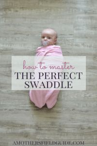 One of the best ways to soothe a newborn is by swaddling. But are you doing it right? Check out how you can master the PERFECT swaddle to calm your baby!