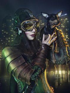 Steampunk Fashion by Rebeca Saray