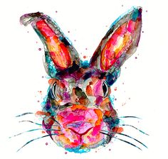 "amazing prints by one of my favorite emerging artists, Jordan Domont. ""Year of the Rabbit""   What's your year?"