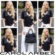 Black and White for today! - www.carolarbex.com