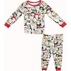 Truly Scrumptious 2 Piece Neutral Color My Own Pajama Set- Toddler