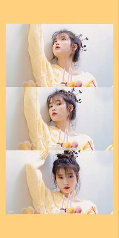 Cute Wallpaper Backgrounds, Aesthetic Iphone Wallpaper, Cute Wallpapers, Iu Fashion, Kpop Fashion Outfits, Blackpink Photos, Girl Photos, Gouache Color, Korean Girl Photo