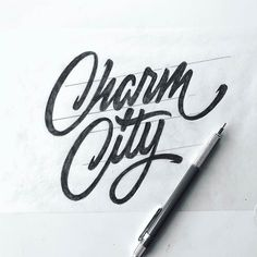 Follow us @typegang | typegang.com #typegang #typography #handtype #graphicdesign #typeface #handlettering #customtype #lettering #design #font #handmade #art #arte Hand Lettering Quotes, Hand Drawn Lettering, Cool Lettering, Types Of Lettering, Script Lettering, Vintage Lettering, Calligraphy Letters, Typography Quotes, Typography Letters