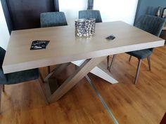 τραπεζαρια δρυς με 6 καρεκλες Office Desk, Decor, Furniture, Home, Home Decor