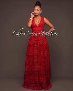Chic Couture Online - Miller Red Crochet Luxe Maxi Dress, (http://www.chiccoutureonline.com/miller-red-crochet-luxe-maxi-dress/)