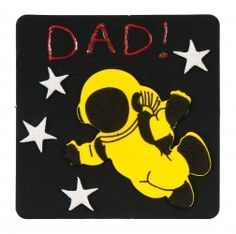 Art Activities - Dad Cardboard Coasters – Craft Activity