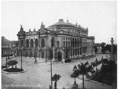 São Paulo - Começo do Século  Teatro Municipal - 1920