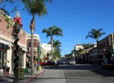 Ventura, CA - Downtown Ventura on Main Street