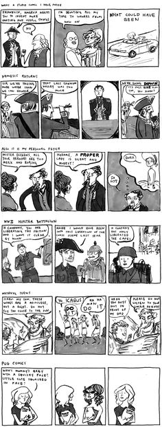 "batch of comics 7 Dickens's fetish: ""Durr"""