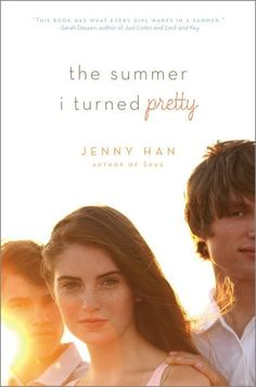 """The Summer I Turned Pretty by Jenny Han. Lysandra calls it """"a summer any girl would love."""" It's the first in series by Jenny Han. Ya Books, Great Books, Books To Read, Teen Books, Children Books, Film Books, Audio Books, Jenny Han Books, Teen Romance"""