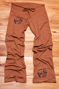 too tired to argue Elephant Yoga Pants, Pajamas, Lounge Pants, Maternity Pants, S,M,L,XL on Etsy, $32.00