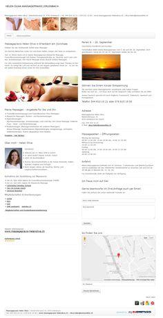 Fussreflexzonenmassage, Erlenbach, Zürich, Küsnacht, Massagen, Helen Oliva